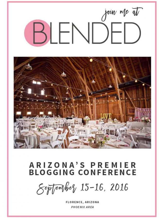 Blended conference, Arizona's premiere blogging conference. Blogging conference in 2016.