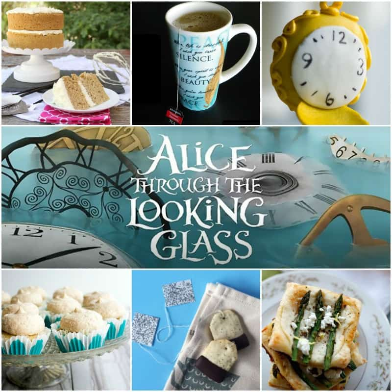 Alice Through the Looking Glass inspired recipes and crafts!