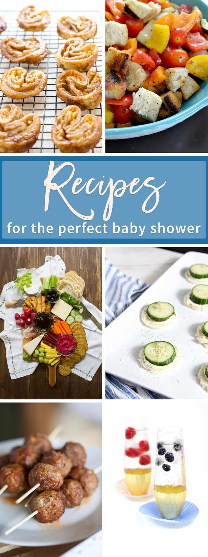 Recipes for the perfect baby shower!