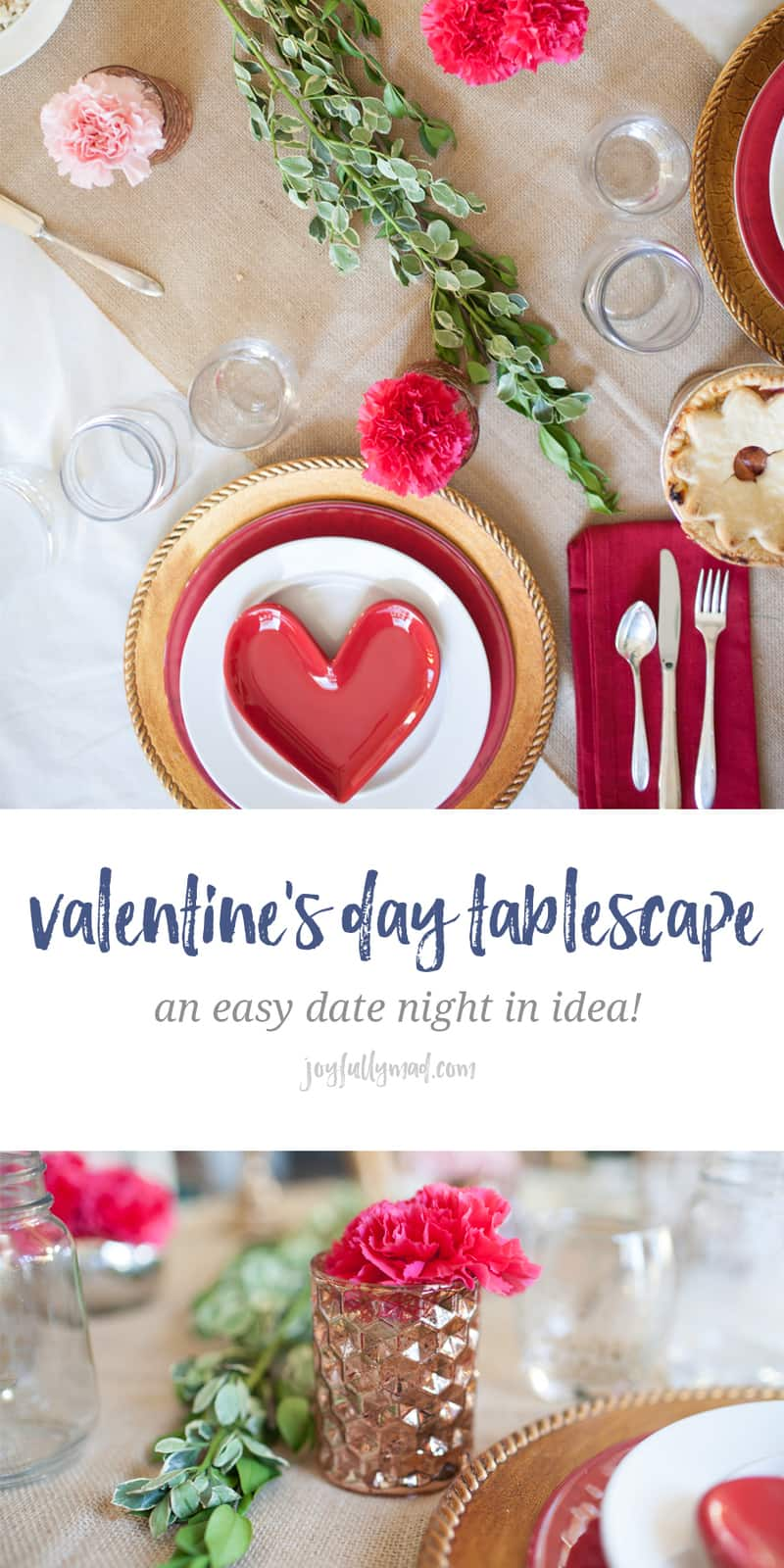 Looking For An Easy Date Night In For Valentineu0027s Day This Year? This Easy  Tablescape