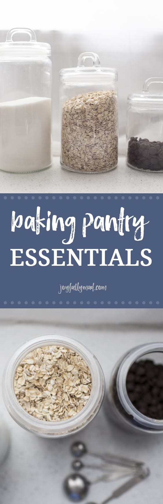 Whether you bake often or just once in a blue moon, there are some baking pantry essentials you should always have on hand to make sure that you're able to bake everything from bread, to muffins, to cookies, whenever the mood strikes! These are the baking pantry essentials every kitchen should be stocked with!