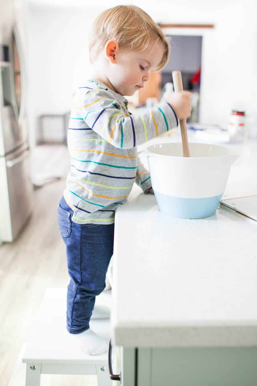 7 Tips for Cooking with Toddlers | A Joyfully Mad Kitchen