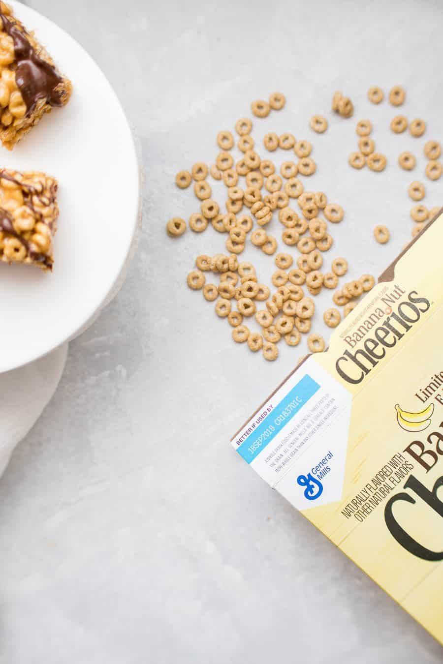 No bake banana peanut butter cereal bars a joyfully mad kitchen simplify your breakfast routine with these dangerously yummy no bake banana peanut butter cereal bars ccuart Images
