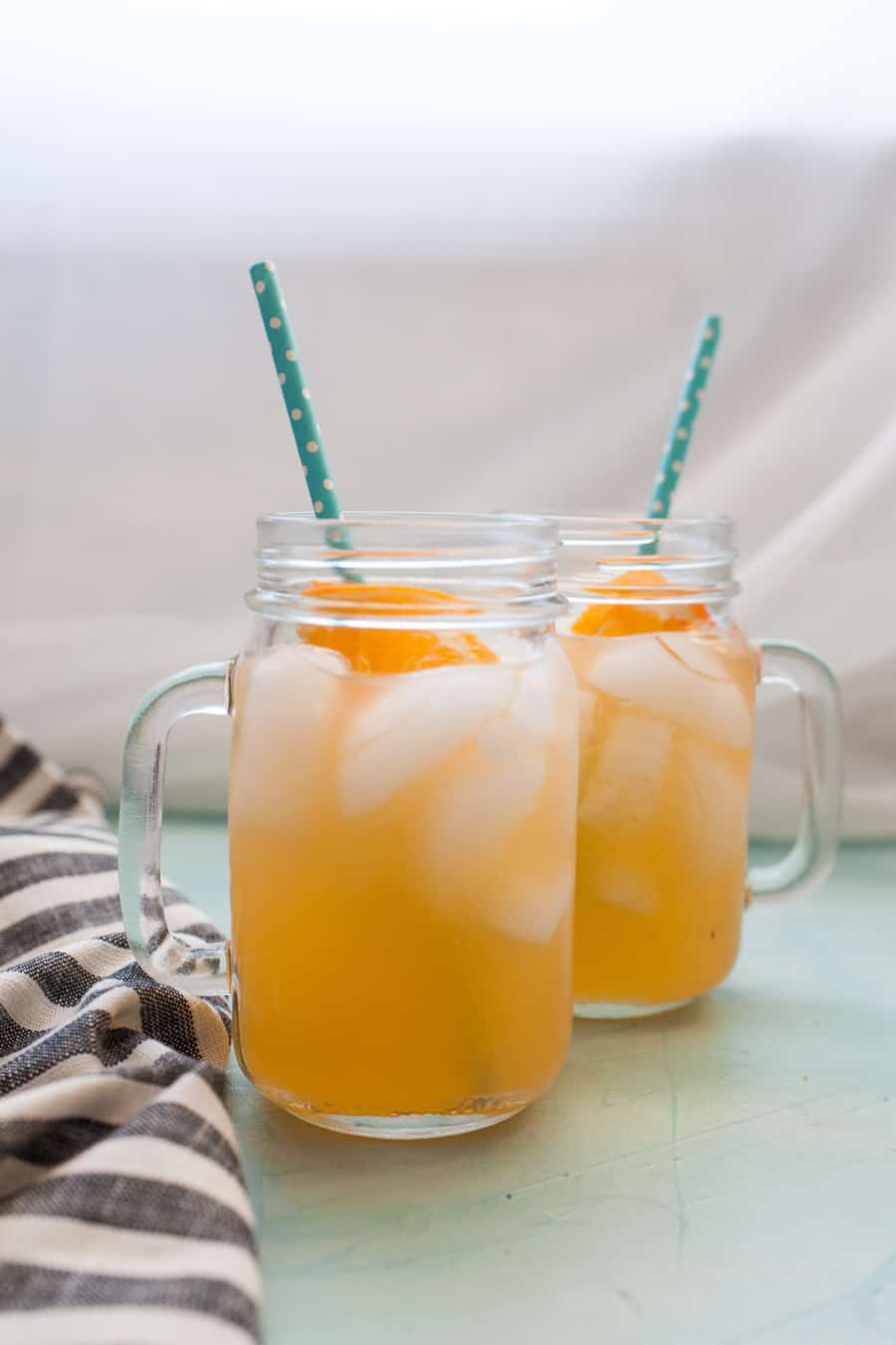Nothing says summer like a tall glass of Honey Orange Lemonade! This lemonade variation is naturally sweetened with a quick honey simple syrup and made with freshly squeezed oranges and lemons. Celebrate the warmer weather with a refreshing glass of Honey Orange Lemonade!