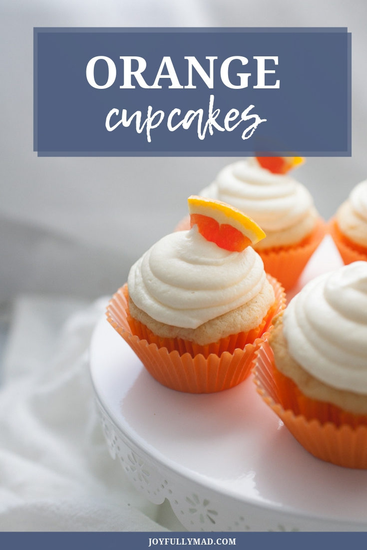 Sweet Orange Cupcakes make for the perfect summertime treat! These orange cupcakes have a sweet orange buttercream icing and are made in under 30 minutes. Makes 12 cupcakes.